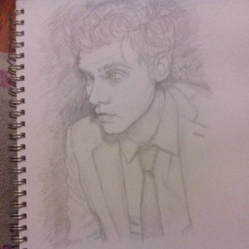 Gerard Way sketch by YoungRebelPhoto