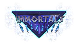 Immortals Reforged final logo. by melvindevoor