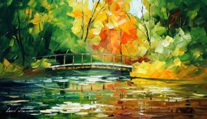 End Of Summer by Leonid Afremov by Leonidafremov