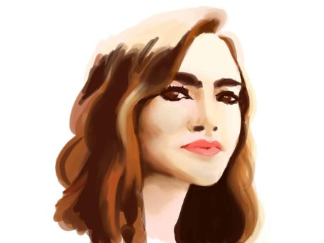 Lily Collins by JoannaFernando