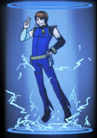 Ninjago: VOCALOID Jay by witch-girl-pilar