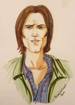 Supernatural Sam by alieks