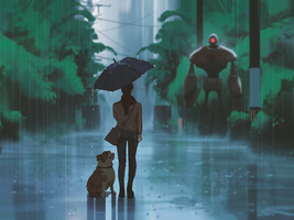 Rain encounter by snatti89