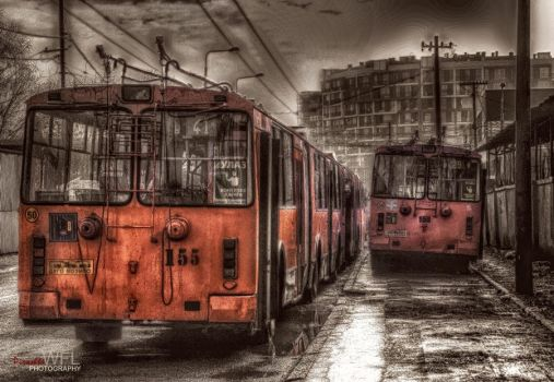 Poem about public transport by Piroshki-Photography
