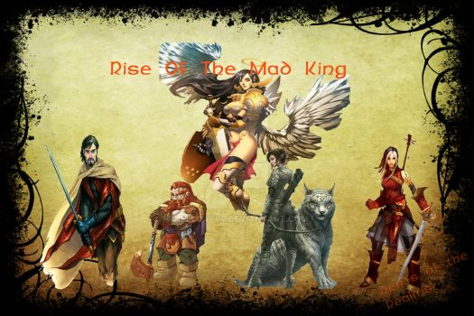 Rise Of The Mad King Poster by Hellcat64