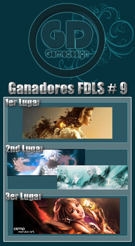 FDLS No.9 Winners Tagwall by gamedesign-gfx