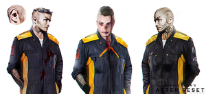 After Reset concepts Engineering Jumpsuit III by blackcloudstudios