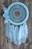 The Spring Blue Bird Dreamcatcher by Ailinn-Lein