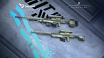 Kaia's Duty 3 Sniper Rifle by BacusStudios