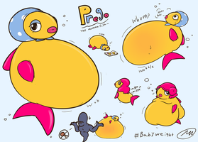 Prego the Mommafish by Axlwisp