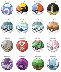 New Pokeballs by SeraCross