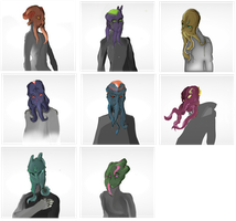 Illithild - Faces by Deimonday