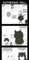[MH4U x RWBY] Welcome to the Gathering Hall by Rukotaro