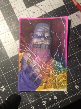 $50 Thanos Color by JeremyTreece