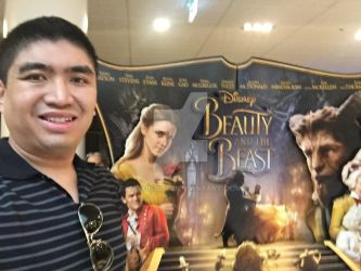 2017 Beauty And The Beast Film Selfie  by JasonCDelaRosa2019