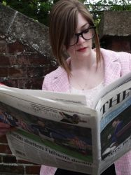 What's the news? by Cathryn-Laura