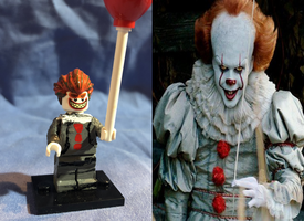Lego Pennywise by MonsterIsland1969