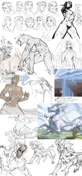 Sketchdump.10 by Remarin