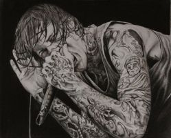 Mitch Lucker of Suicide Silence. RIP by AitorLicantropo