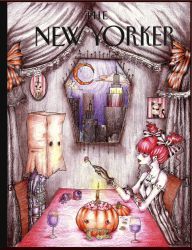 New Yorker Cover Project-Halloween by blackkitty84