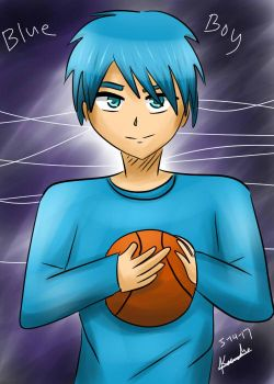Blue Boy + Basketball by kazaki03
