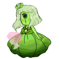 Green Sapphire Paypal Adopt (OPEN) by PinkuuBow