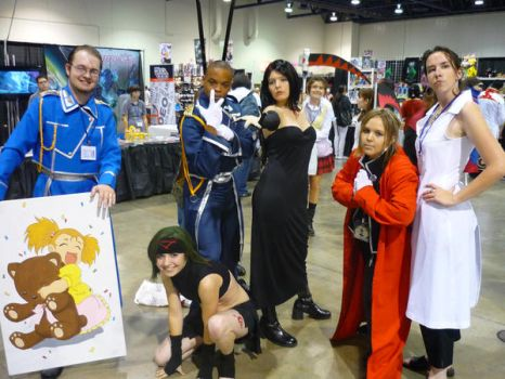 Anime Vegas 09- FMA Group by animega90