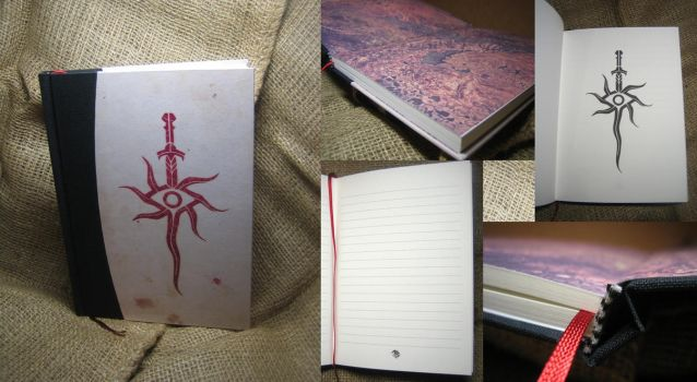 Dragon Age Inquisition notebook by Vanyanie