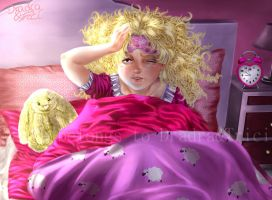 Morning Hours - Macie waking up by Dradra-Trici