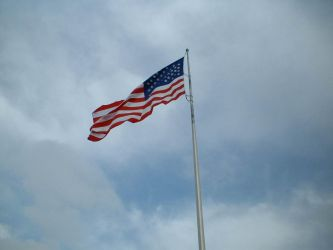 USA flag by kitsolidor