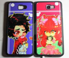 Cristian x Kozue Cellphone Case by Rinnn-Crft