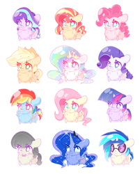 My Little Fluffs: Keychains is Floofy! by HungrySohma16