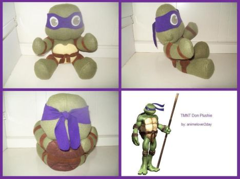 Donnie Plushie Collage by animelover2day