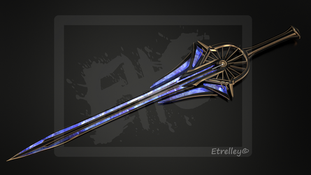 Radione Sword - Epee Radione - OC by Etrelley