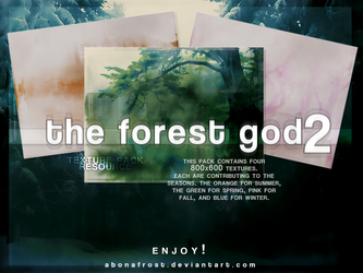 The Forest God - Texture Pack 2 by abonafrost