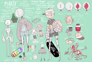 marty the monster / official ref / 2k17 by softesaur