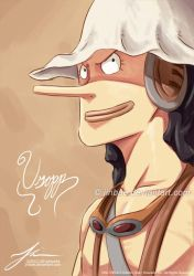 Usopp: Painting by Jinbae