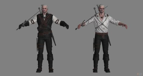 The Witcher 3 - Geralt of Rivia for XPS by Aequitas-Imperator