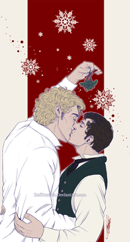 Penny Dreadful - AronxVictor - Xmas Kiss by RedPassion