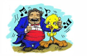 Woofer and Tweeter by sethness