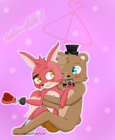 (FreXy) Valentine's Day by neko-chibi1
