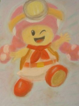 Captain Toadette by izzyo816