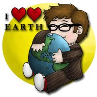 I Love Earth by beffles