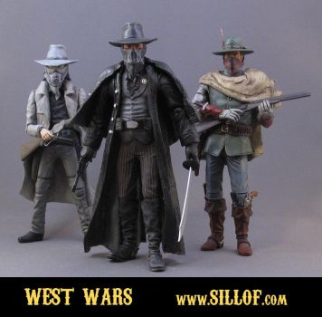Western Wars - Villains by sillof
