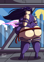 No More Skinny Girls 2 - Ep 8 - Psylocke by Axel-Rosered