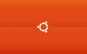 ubuntu minimalistic wallpaper by CajeFM