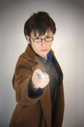 Doctor Who - Just the Doctor I by Sakiko-Seihikaru