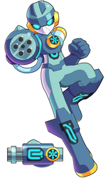 Commission: Crio Man.EXE by ultimatemaverickx