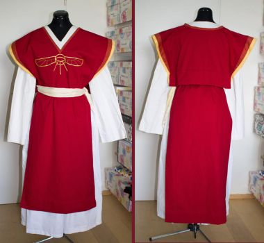 Everyday costume of a Praios priest in TDE by Wen-Astar