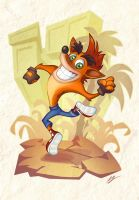 Crash Bandicoot!! by dreelrayk
